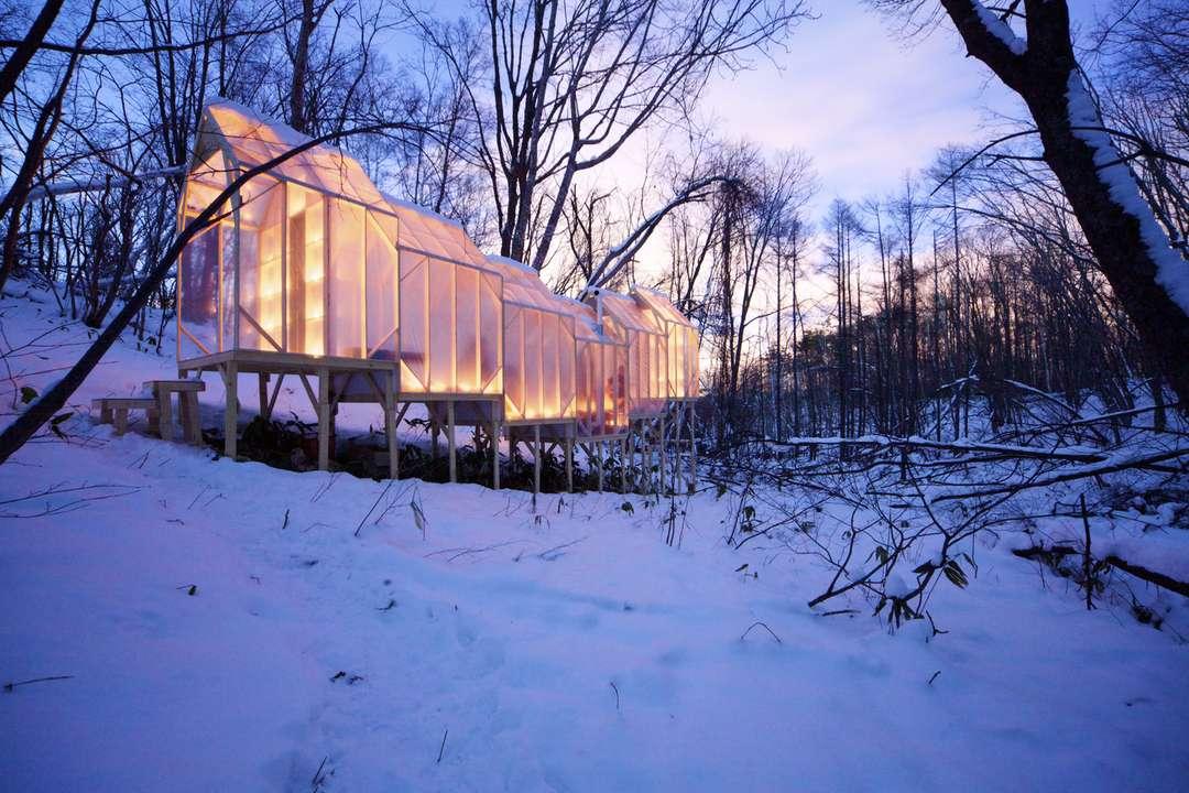 Fragile Shelter by Hidemi Nishida, Sapporo, Japan