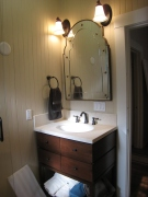 Small Hall Bath Vanity