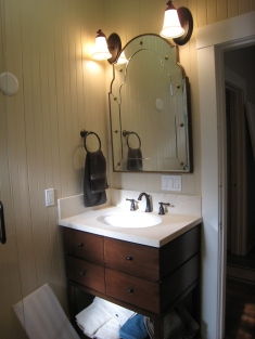 Small Hall Bath Vanity