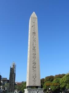 Obelisk of Luxor in Istanbul