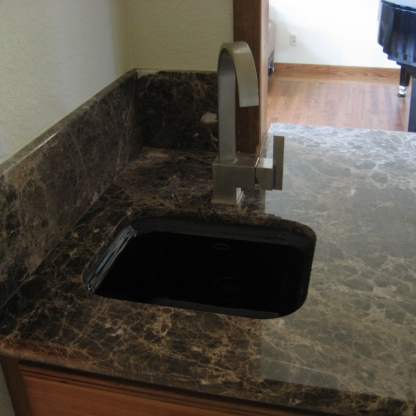Emperador Dark Marble Counter