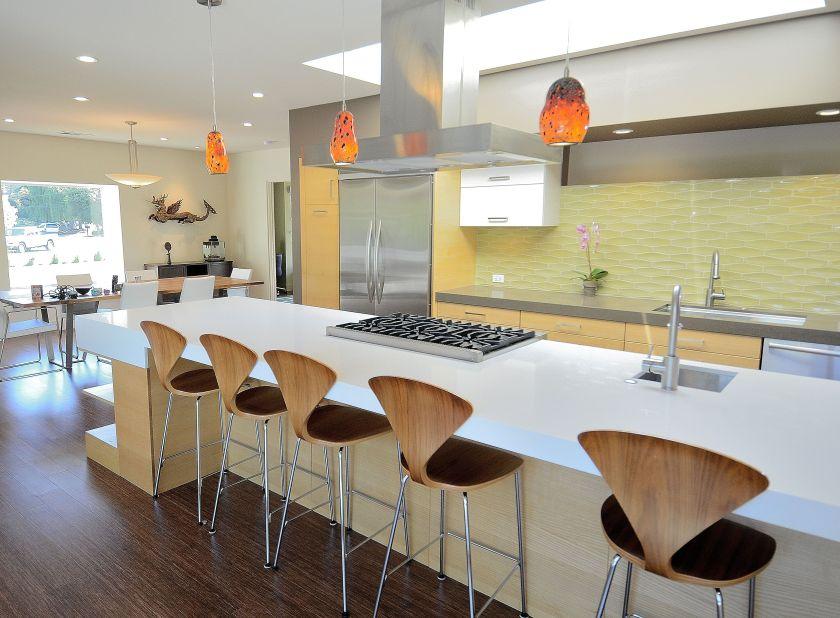 Mid-Century Modern on a Budget - kitchen4