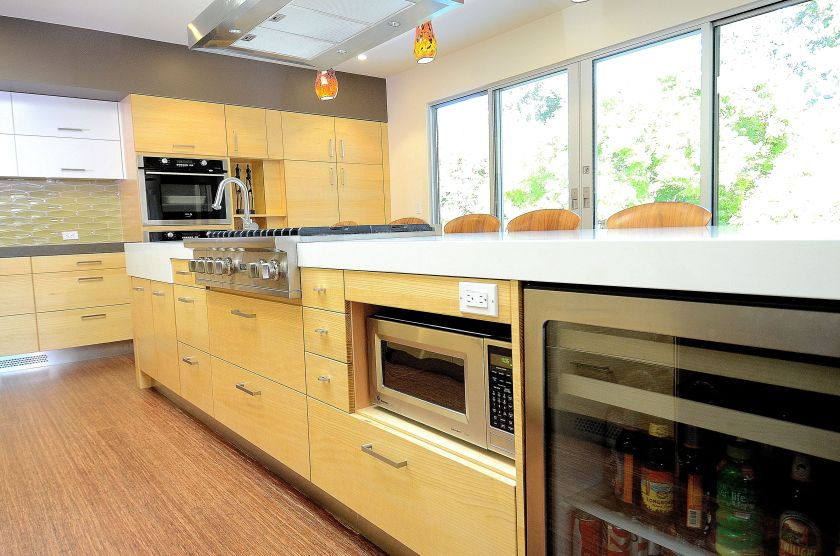 Mid-Century Modern on a Budget - kitchen8