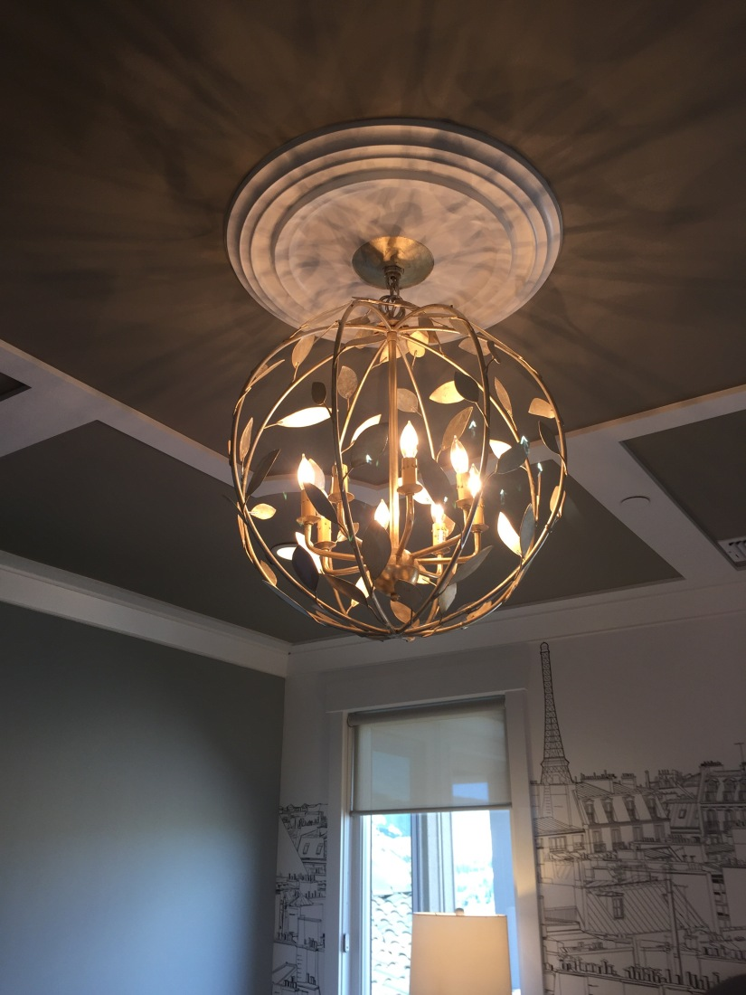 Fresh Lighting from Professional Builder House Tour.